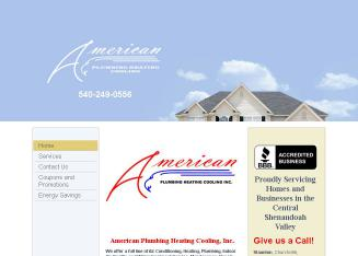 American+Plumbing+Heating+Cooling Website