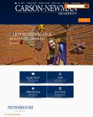 Carson-Newman+College Website