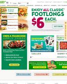 Subway+Sandwiches Website
