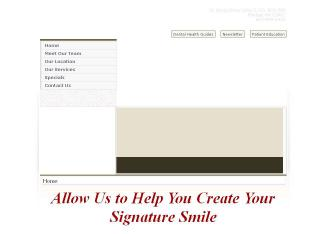 Signature+Smiles+Dental Website