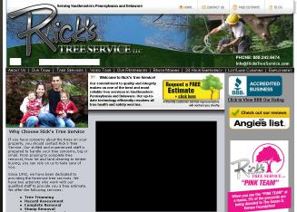 Rick%27s+Tree+Service+%26+Tree+Removal Website