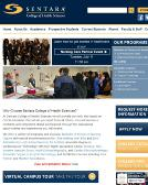 Sentara+College-Health+Science Website