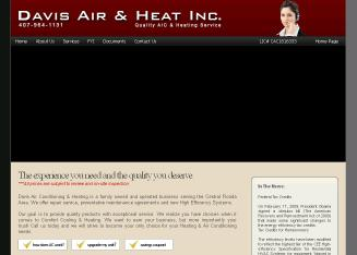 Davis Air Conditioning and Heating Inc
