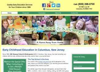 ABC+Nursery+School+%26+Kindergarten+LLC Website
