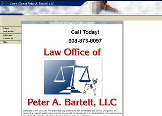 Peter+A+Bartelt+Law+Office+of+LLC Website