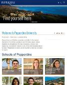 Pepperdine+University+School+of+Business+%26+Management Website