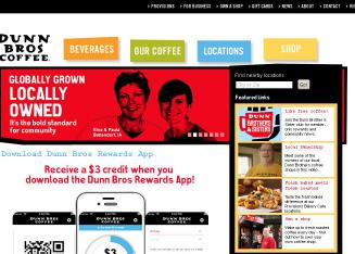 Dunn+Bros+Coffee Website