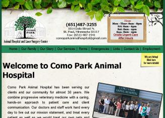 Como+Park+Animal+Hospital+%26+Laser+Surgery+Center Website