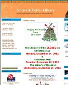 Norwalk+Public+Library Website