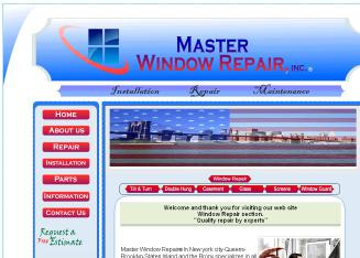 Master+Window+Repair%2C+Inc. Website