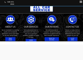 All+Car+Service Website