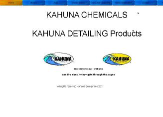 Kahuna+Chemicals Website