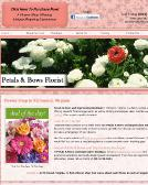 Petals+and+Bows+Florist+-+Impressions+Boutique Website