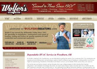 Wolfer's Heating Air Conditioning & Sheet Metal