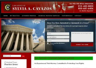 The+Law+Office+of+Sylvia+Ann+Cavazos Website