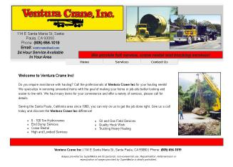 Ventura+Crane+Inc Website