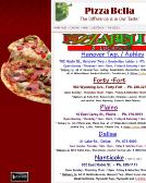 Pizza+Bella Website