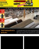 Carpet+Clearance+Warehouse Website