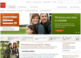 Wells+Fargo+Bank Website