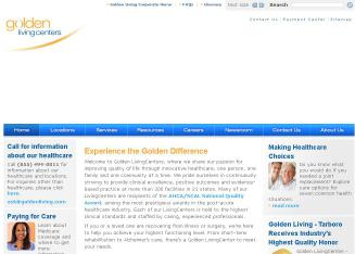 Golden+Living Website