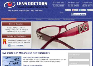Lens+Doctors Website