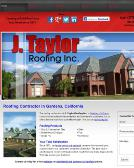 Taylor+Roofing Website