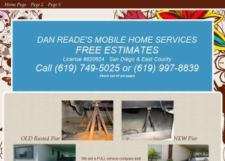 Dan+Reade%27s+Mobile+Home+Service Website