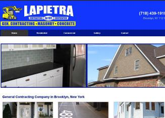 Lapietra+Contracting+Corporation Website