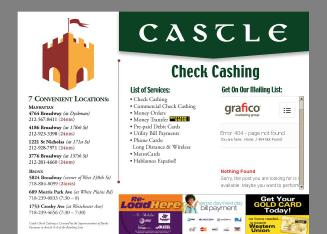 Castle Check Cashing Corp