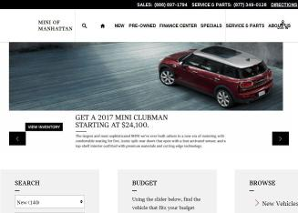 MINI+of+Manhattan Website