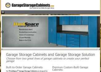 The+Garage+Cabinet+co. Website
