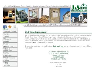 J+%26+S+Home+Improvements Website