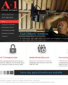 A-1+Locksmith+%26+Alarm Website