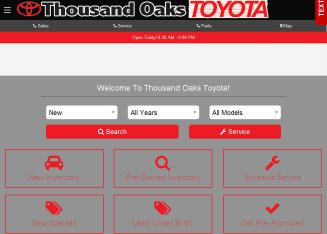 Thousand+Oaks+Toyota Website