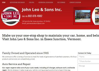 John+Leo+%26+Sons%2C+Inc. Website