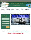 Jim%27s+RV+Center Website