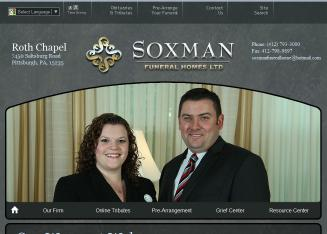 Soxman+Funeral+Home Website