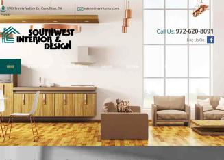 Southwest+Interior+%26+Design Website