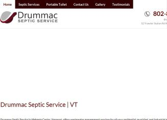 Drummac+Septic+Service Website