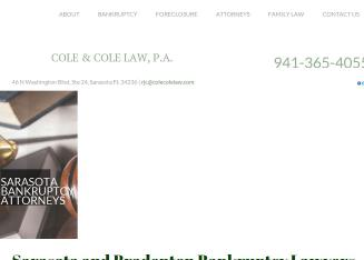 Cole%2C+R.+John+II%2C+Associates+%26+PA Website