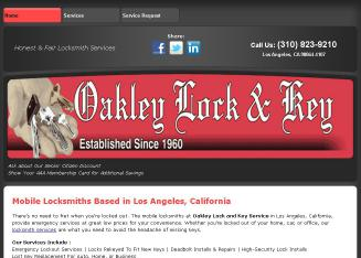 Oakley Lock & Key