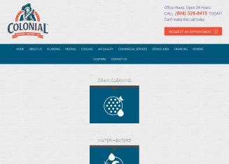 Colonial+Plumbing+%26+Heating Website