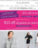 Talbots Website