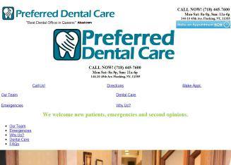 Preferred+Dental+Care Website