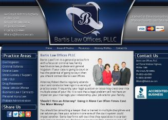 Bartis+Law+Offices Website
