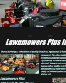 Lawnmowers+Plus Website