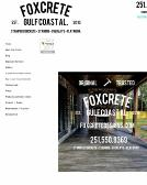 Foxcrete+Designs Website