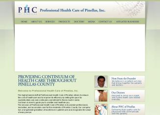 Professional+Healthcare+Of+Pinellas Website