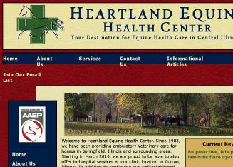 Heartland+Equine+Health+Center%2C+LLC Website