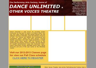 Dance+Unlimited Website